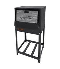 forno industrial invicto fogões baixa pressão cavalete 80 litros grafite