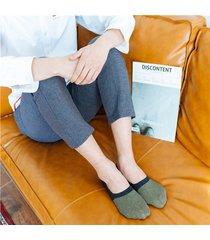 uomo anti-skid barca calze caviglia invisibile calze cotone traspirante calze stivale calze