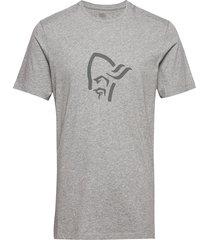 /29 cotton viking t-shirt m's t-shirts short-sleeved grå norrøna