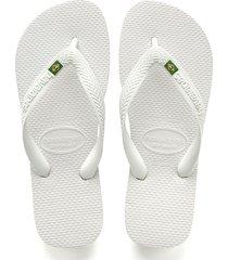 sandalias chanclas havaianas para hombre blanco brasil