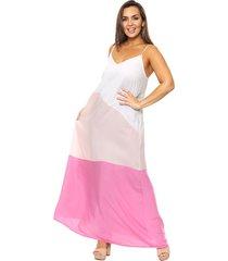 vestido natural vindaloo fibrana