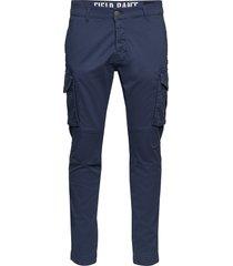 field pant trousers cargo pants blå alpha industries