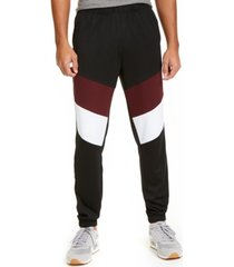 id ideology men's colorblocked track pants, created for macy's