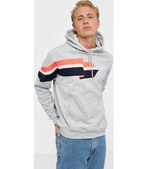 adidas originals ripple hoody tröjor grå
