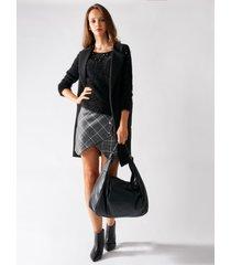 rinascimento maglia in pelliccia con borchie