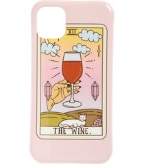 recover wine iphone 11, 11 pro & 11 pro max case -