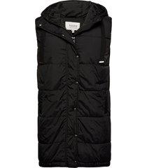 bybomina waistcoat - vests padded vests svart b.young
