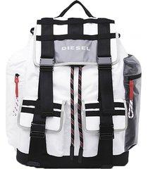 mochila cage cage back backpack blanco diesel