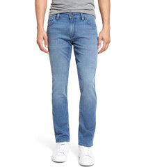 men's big & tall 34 heritage courage straight leg jeans, size 36 x 36 - blue