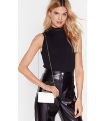 want the woven one faux leather crossbody bag