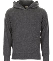 massimo alba knit hoodie