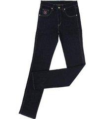 calça jeans dock's tradicional masculina