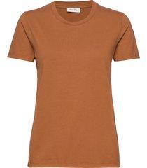 fizvalley t-shirts & tops short-sleeved orange american vintage