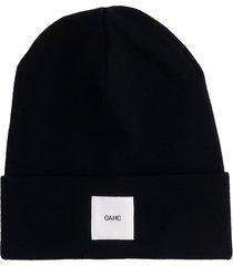 oamc hats in black wool