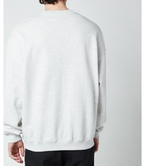 drôle de monsieur men's classic sweatshirt - grey - xl
