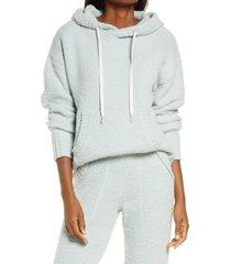women's ugg asala hoodie, size x-large - blue