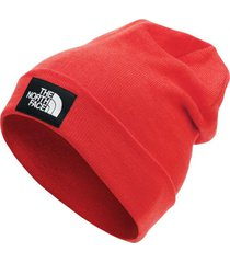 gorro dock worker recycled rojo the north face