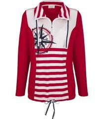 sweatshirt paola wit::rood::marine