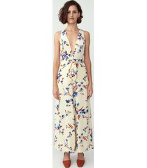 dauphine floral palazzo jumpsuit