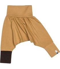 spodnie mini mini - musztarda
