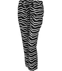 opus broek met print mahal zebra