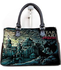 tear out the heart album cover custom barrel type handbag