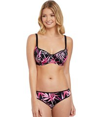 sunset palm underwire sweetheart padded bikini top