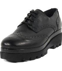 zapato inglés clásico negro mailea