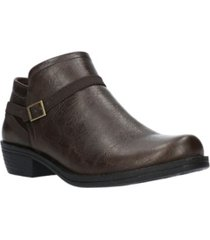 easy street peony ankle booties women's shoes