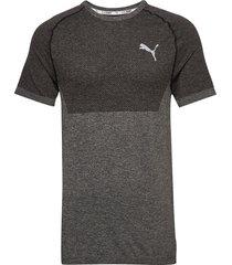 rtg evoknit basic tee t-shirts short-sleeved svart puma