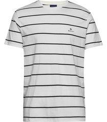 breton stripe ss t-shirt t-shirts short-sleeved vit gant