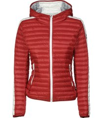 colmar wide hood zip padded jacket