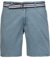 protest korte broek men fan shorts washed blue-s