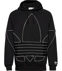bg tf out hoody hoodie trui zwart adidas originals