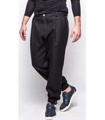 spodnie z zakładką