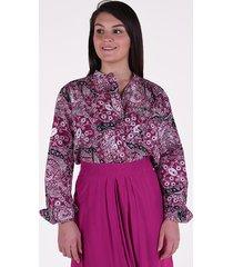 isabel marant blouse mexika roze