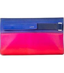 lanvin slim clutch bag - pink