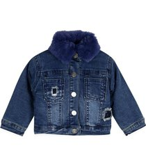 chaqueta bebe niña denim  pillin