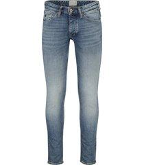 blauwe jeans cast iron riser slim