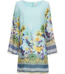 abito in chiffon (blu) - bodyflirt boutique