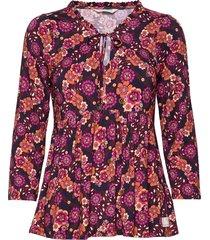 powered by me blouse blus långärmad multi/mönstrad odd molly