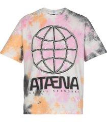 mcq alexander mcqueen mcq genesis ii tie dye t-shirt