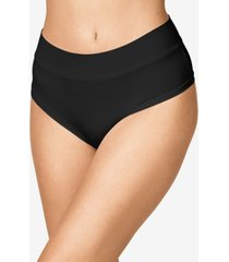 warner's women's easy does it one size hi waist thong rx4281p