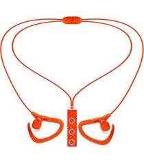 audífonos bluetooth estéreo hd manos libres deportivos, bt-51 audifonos bluetooth manos libres  4.1 auriculares auriculares estéreo inalámbricos portátiles de deporte (naranja)