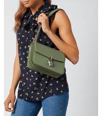kate spade new york women's locket large flap shoulder bag - romaine