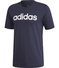 camiseta adidas essentials linear hombre