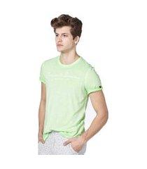camiseta convicto denim verde claro