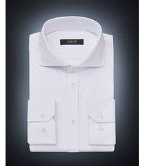desoto luxury line heren overhemd cutaway jersey slim fit wit