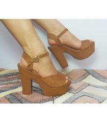 zapatillas tacones de mujer plataformas de moda casual y formal damas