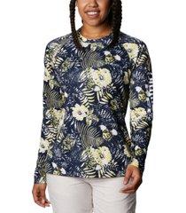 columbia women's super tidal tee omni-shade t-shirt